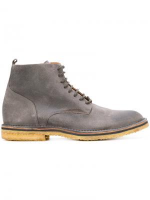 Ботинки по щиколотку Buttero. Цвет: серый