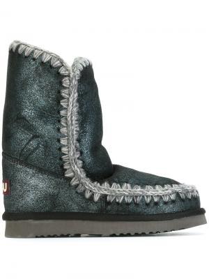 Ботинки Mu Eskimo Mou. Цвет: синий