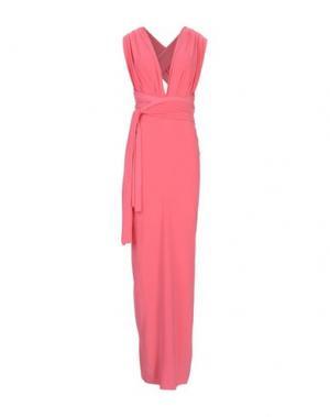 Длинное платье VON VONNI. Цвет: коралловый
