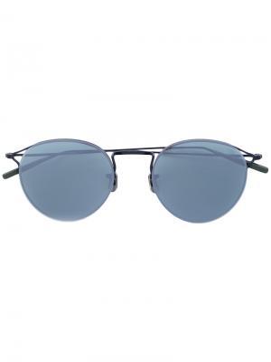 Круглые солнцезащитные очки Eyevan7285. Цвет: чёрный
