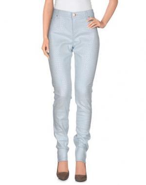 Повседневные брюки XANDRES. Цвет: небесно-голубой