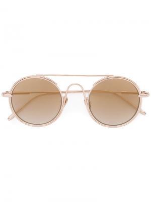 Солнцезащитные очки Checkmate Frency & Mercury. Цвет: металлический