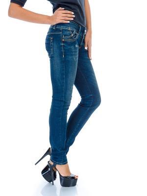 Женские джинсы LTB. Цвет: темно-синий