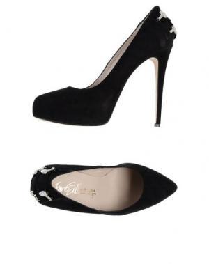 Туфли на платформе ENIO SILLA for LE. Цвет: черный