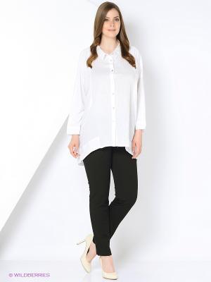 Блуза Open End. Цвет: белый