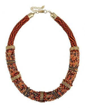 Ожерелье DETTAGLI. Цвет: ржаво-коричневый