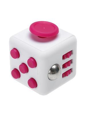 Игрушка антистресс FidgetCube Light, белый - розовый Neocube. Цвет: черный