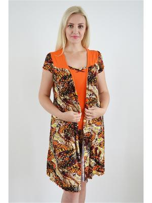 Комплект Miata. Цвет: оранжевый