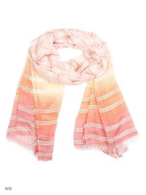 Палантин Punta. Цвет: оранжевый, розовый, желтый