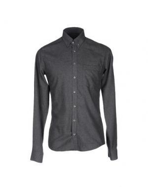 Pубашка TIGER OF SWEDEN. Цвет: стальной серый