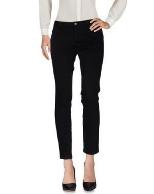 Повседневные брюки TRĒZ. Цвет: черный