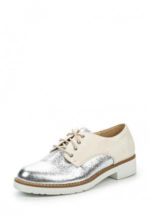 Ботинки Super Mode. Цвет: серебряный