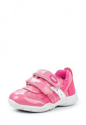 Кроссовки Beppi. Цвет: розовый