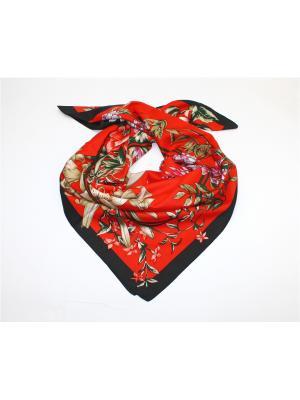 Платок Dolci Capricci. Цвет: черный, красный