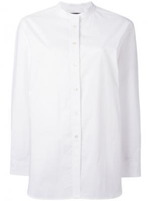Рубашка свободного кроя Odeeh. Цвет: белый