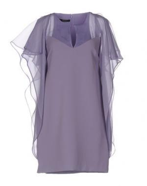 Короткое платье ANNARITA N.. Цвет: фиолетовый
