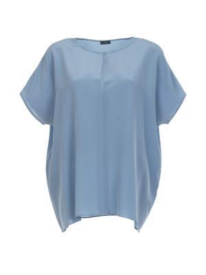 Блуза Joseph. Цвет: серо-голубой