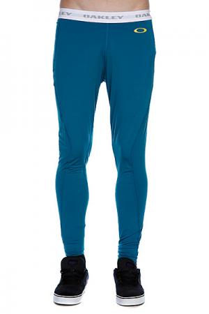 Термобелье (низ)  Great Ascent Baselayer Pants Aurora Blue Oakley. Цвет: зеленый