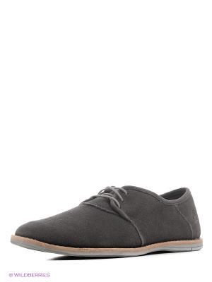 Туфли TIMBERLAND. Цвет: темно-серый