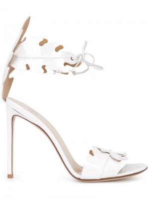 Ankle strap sandals Francesco Russo. Цвет: белый