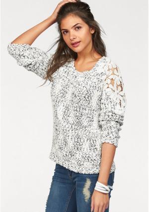 Пуловер AJC. Цвет: черный/белый