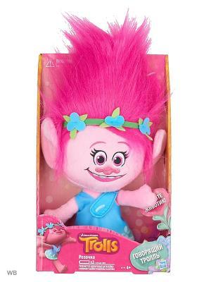 Говорящая Поппи Hasbro. Цвет: фуксия, голубой, розовый