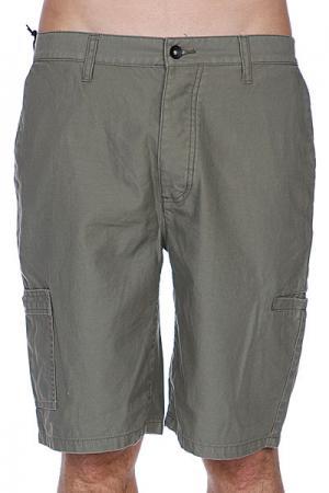Классические мужские шорты  Penderil Military Krew. Цвет: зеленый