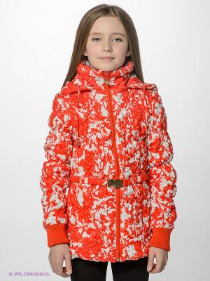 Куртка MES AMI. Цвет: красный, белый
