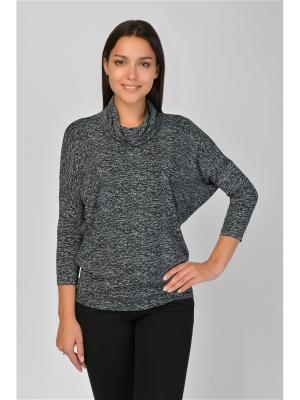Блузка Maria Velada. Цвет: черный, белый
