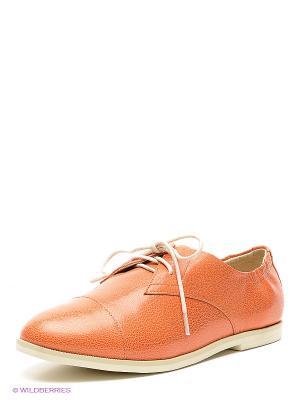 Туфли Sinta Gamma. Цвет: оранжевый