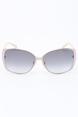 Очки солнцезащитные Givenchy. Цвет: бежевый
