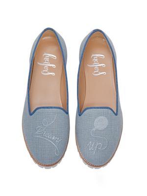 Слиперы - Дрим Ап Lucifer's shoes. Цвет: серо-голубой