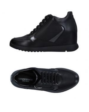 Высокие кеды и кроссовки LUMBERJACK. Цвет: черный