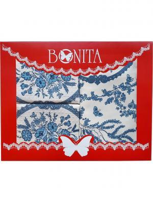 Скатерть BONITA. Цвет: синий, белый