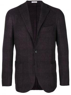 Легкий пиджак Boglioli. Цвет: розовый и фиолетовый