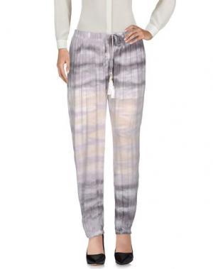 Повседневные брюки YOUNG FABULOUS & BROKE. Цвет: светло-серый