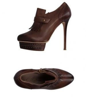 Обувь на шнурках ENIO SILLA for LE. Цвет: хаки