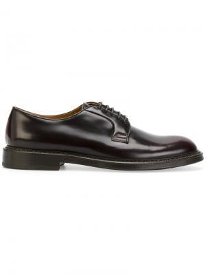 Классические ботинки Дерби Doucals Doucal's. Цвет: коричневый