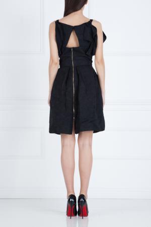 Платье-мини Roland Mouret. Цвет: черный