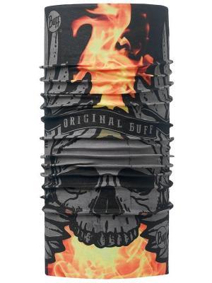 Бандана 2016-17 Original SULFUR BLACK-BLACK-Standard (US:ONE SIZE) Buff. Цвет: черный, оранжевый
