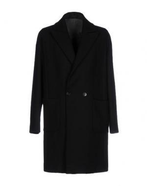 Пальто FUTURO. Цвет: черный
