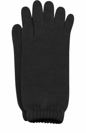 Удлиненные вязаные перчатки Catya. Цвет: черный