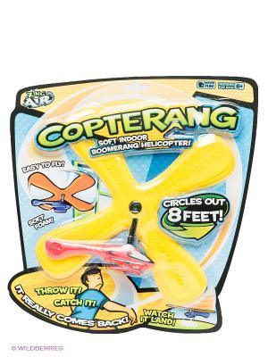Игрушка Бумеранг Copterang с вертолетом ZING. Цвет: желтый