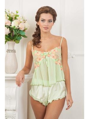 Комплект одежды CLEO. Цвет: салатовый