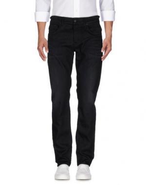 Джинсовые брюки DEPARTMENT 5. Цвет: черный