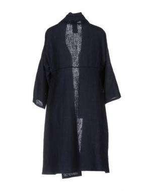 Легкое пальто CORINNA CAON. Цвет: темно-синий