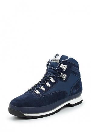 Ботинки трекинговые Timberland. Цвет: синий