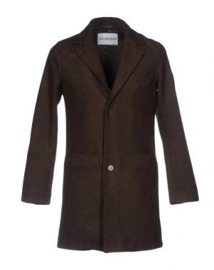Пальто HAN KJOBENHAVN. Цвет: темно-зеленый