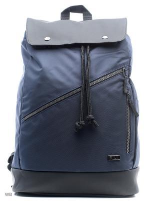 Рюкзак FILA. Цвет: синий, черный