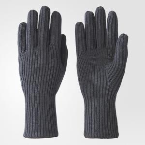 Перчатки Y-3 Logo by adidas. Цвет: серый
